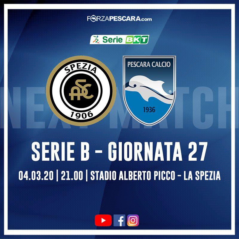 Spezia-Pescara 2-0 FINALE